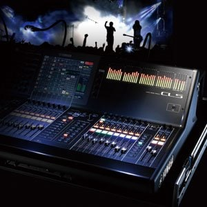 Mesa de som digital Yamaha CL5
