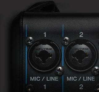 Mesa de som analógica da yamaha MG06X entrada balanceada COMBO