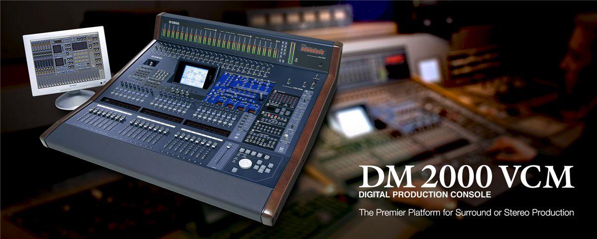 DM2000VCM - Características - Mixers - Áudio Profissional - Produtos
