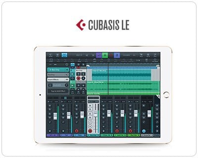 Cubasis LE Multitouch Sequencer for the iPad